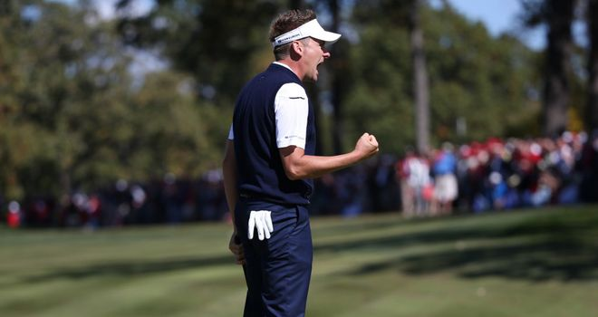 Ian Poulter: Ryder Cup heroics are recognised with award
