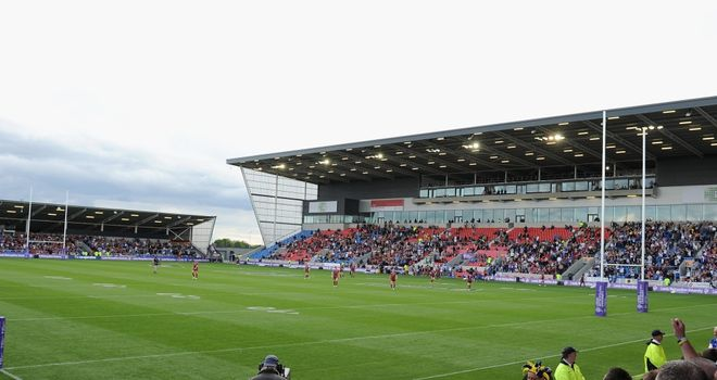 Salford City Stadium: Still hoping to host Super League games this season