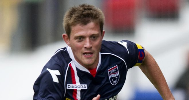 Richard Brittain: Ross County midfielder has signed pre-contract with St Johnstone