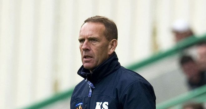 Kilmarnock boss Kenny Shiels claims he was 'delighted to be booed off'
