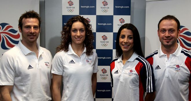 Shelley Rudman and Kristan Bromley (R): Focused ahead of Sochi 2014