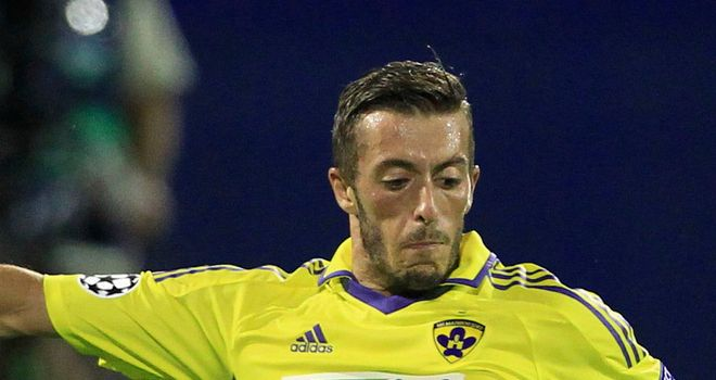 Ibraimi: Scored one of Maribor's goals
