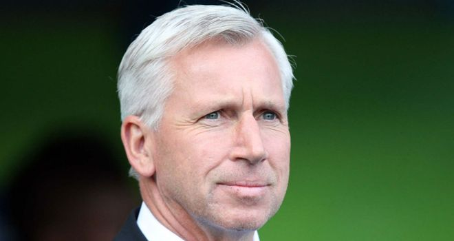 Alan Pardew: Has a shopping list of seven defenders for January transfer window