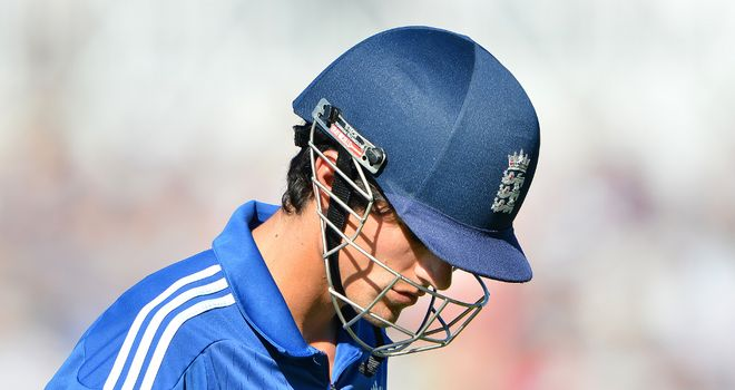 Alastair Cook: Accused England of throwing away the series