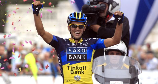 Alberto Contador: Added the one-day event to his considerable Grand Tour palmares