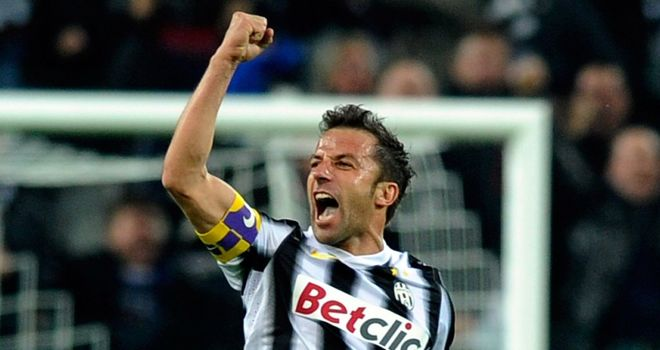 Alessandro Del Piero: Claims he rejected an approach from Liverpool before moving to Sydney FC