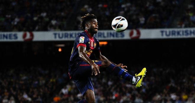 Alex Song: Believes the chance to play for Barcelona only comes once in life