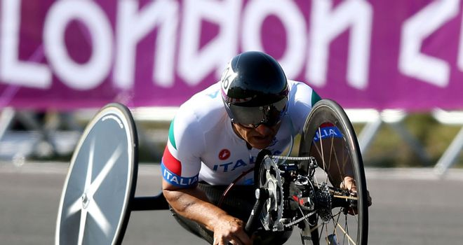 Alex Zanardi: Took gold in the H4 hand-cycle time-trial