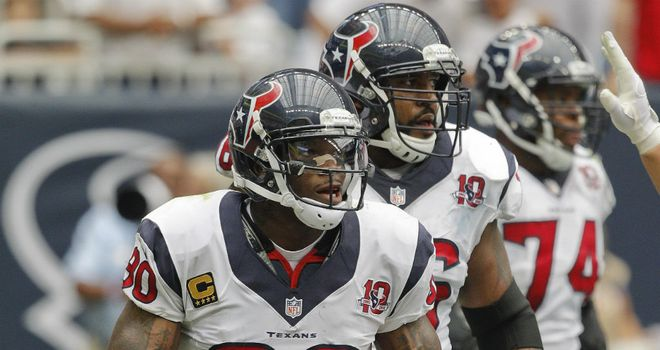 Andre Johnson: Texans so balanced on offence