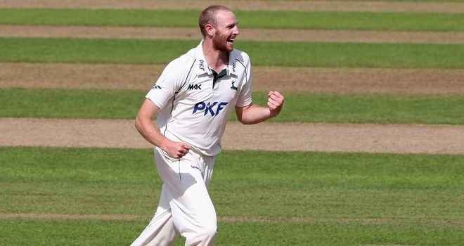 Andy Carter: Rewarded for 'breakthrough' season at Nottinghamshire