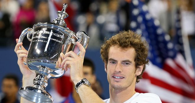 Andy Murray became the first British man in 76 years to win a Grand Slam title