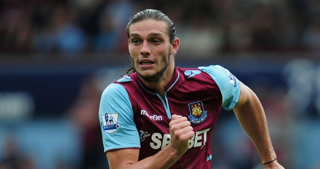 Andy Carroll: Impressed on his West Ham debut before picking up a knock