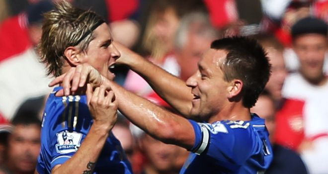 Fernando Torres and John Terry both expected to start for Chelsea against FC Nordsjaelland