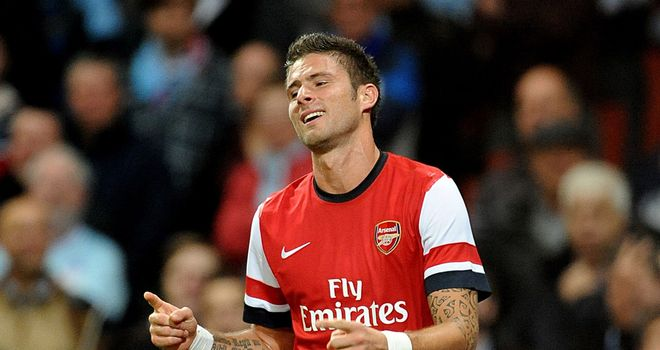 Olivier Giroud: Still settling into life at Arsenal after summer move