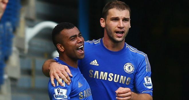 Ashley Cole: Chelsea's left-back was the match-winner against Stoke City on Saturday