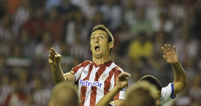 Aritz Aduriz: Headed the winner for Athletic Bilbao against Real Mallorca