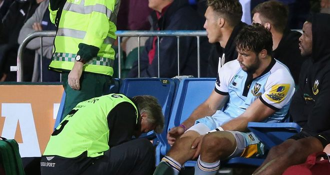 Ben Foden: Expected to be sidelined for a number of weeks