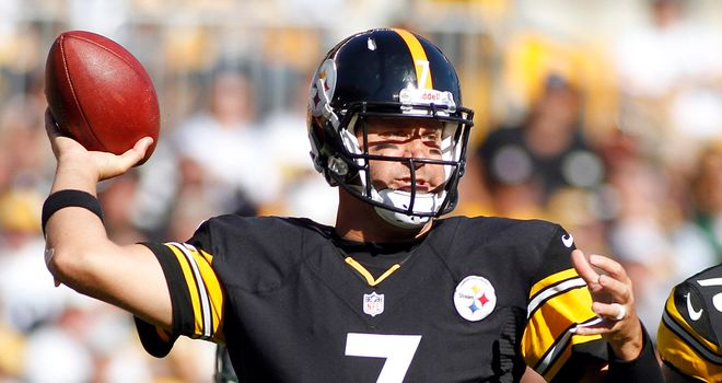 Ben Roethlisberger: Passed for a total of 275 yards