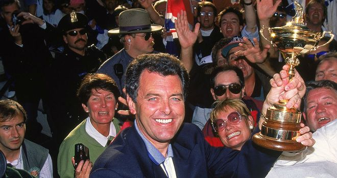 Bernard Gallacher: Victorious Ryder Cup captain