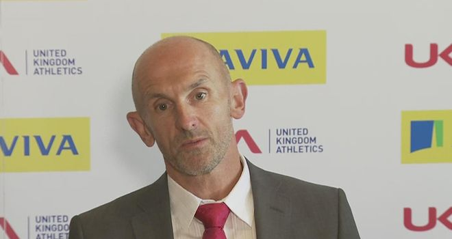Neil Black: UKA performance director 'pleased and excited' by applicants for head coach role