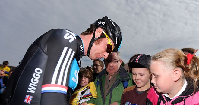 British fans could see more of Bradley Wiggins on home turf