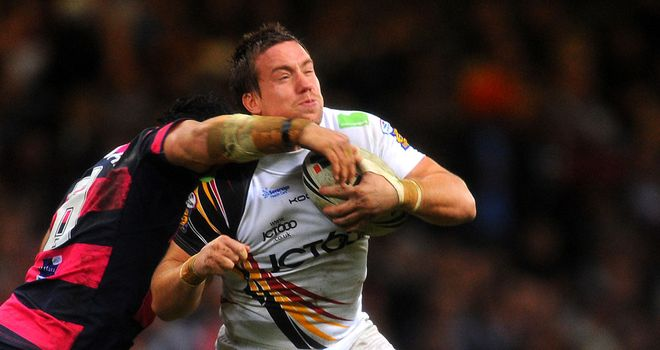 Bryn Hargreaves: Has retired from rugby league after his contract expired
