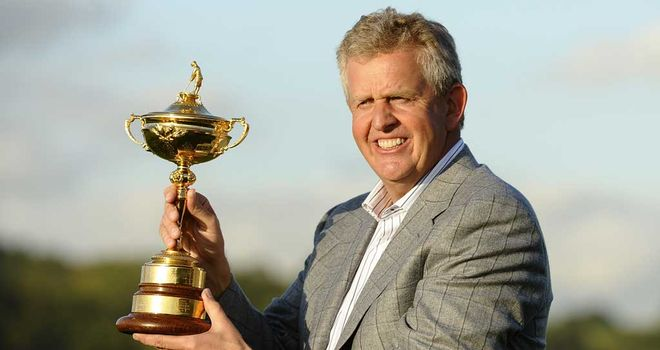 Monty: confident he will named Ryder Cup captain for a second time