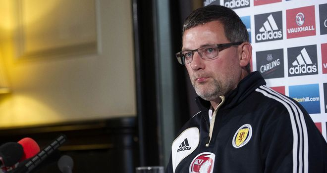 Craig Levein: Says Scotland will give Macedonia due respect