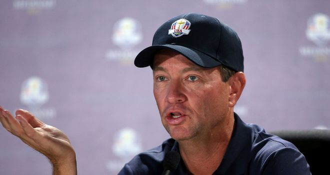 Davis Love: Not concerned by the poor stats of Woods, Mickelson and Furyk