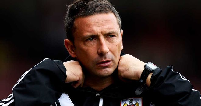 McInnes: the Scot's Bristol City team have lost six games in a row