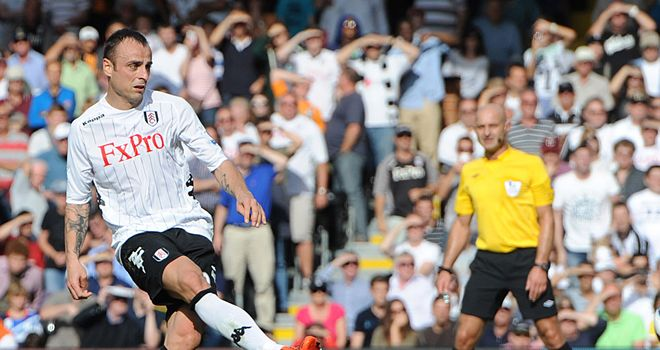 Dimitar Berbatov: Opened his Fulham account with two goals against West Brom