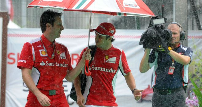 Felipe Massa: Under pressure at Ferrari