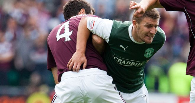 Gary Deegan has helped Hibs make a strong start to the SPL season.