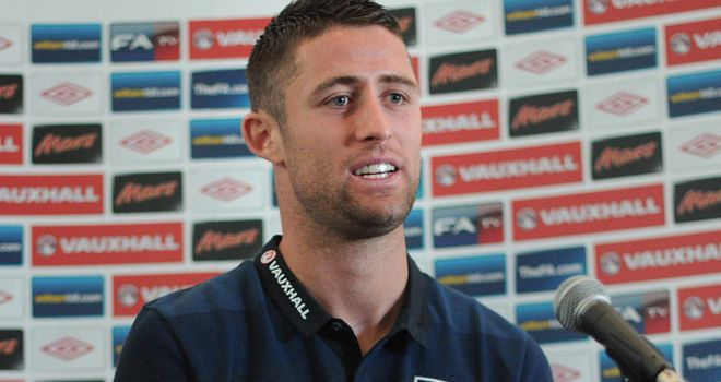 Gary Cahill: Chelsea and England defender has been praised by team-mate Frank Lampard
