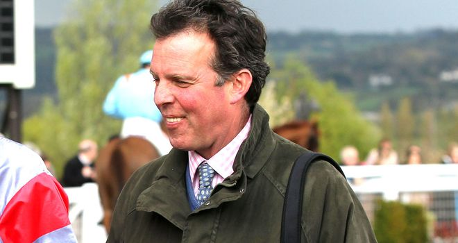 Tom George: Expects Majala to run at Warwick