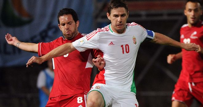 Zoltan Gera: Added Hungary¿s third from the penalty spot