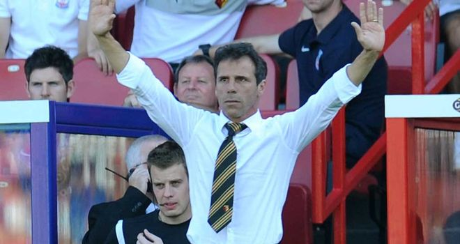 Gianfranco Zola: Refused to criticise Watford side despite letting leads slip