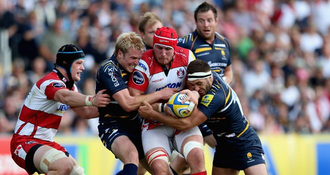 Tense struggle: Gloucester and Worcester play out draw
