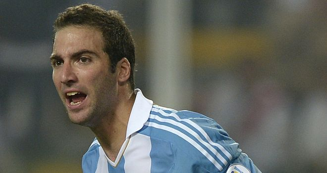 Gonzalo Higuain: Grabbed equaliser for Argentina