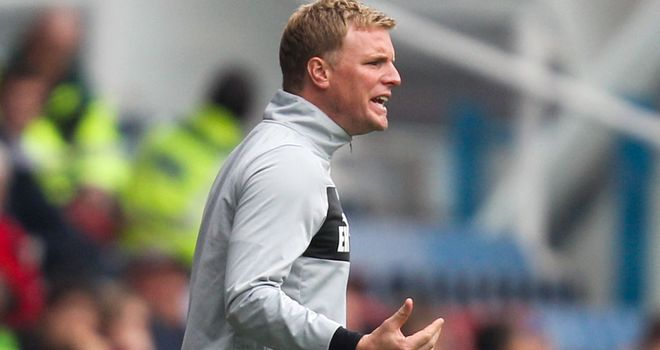Eddie Howe: Wanted by Bournemouth as they search for a new boss