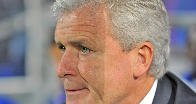 Mark Hughes: Sitting bottom of the Premier League