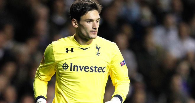 Hugo Lloris: Started for Spurs against Villa at the weekend