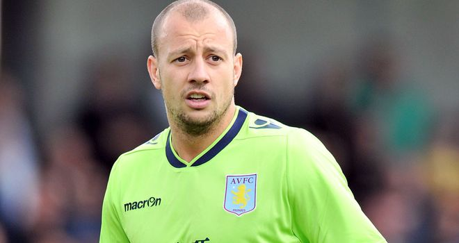 Alan Hutton: Could be made available for loan by Aston Villa