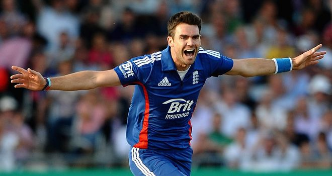 James Anderson: not part of England's squad for the ICC World Twenty20 in Sri Lanka