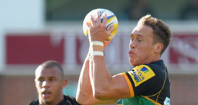 James Wilson: New deal at Northampton Saints