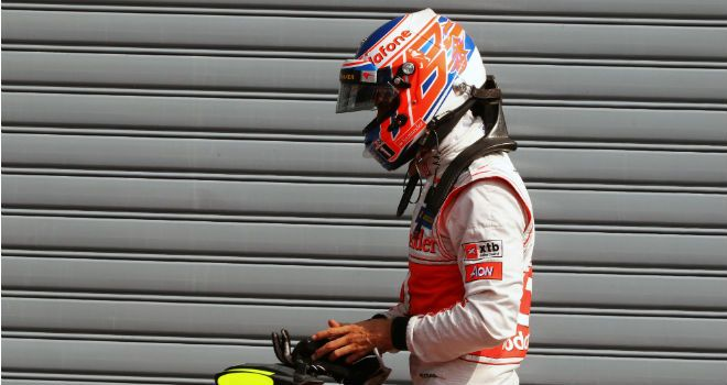 Jenson Button: Missed out on a likely second place in Italy