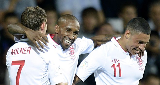 Jermain Defoe: Striker is in line to start for England in Poland tonight.