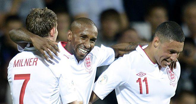 Jermain Defoe: Striker is in line to start for England in Poland tonight.