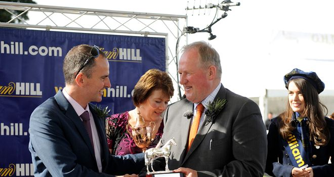 Jim Goldie (right): Hopes to be in winners enclosure again