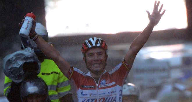 Joaquim Rodriguez: Continued his impressive campaign by winning a monument